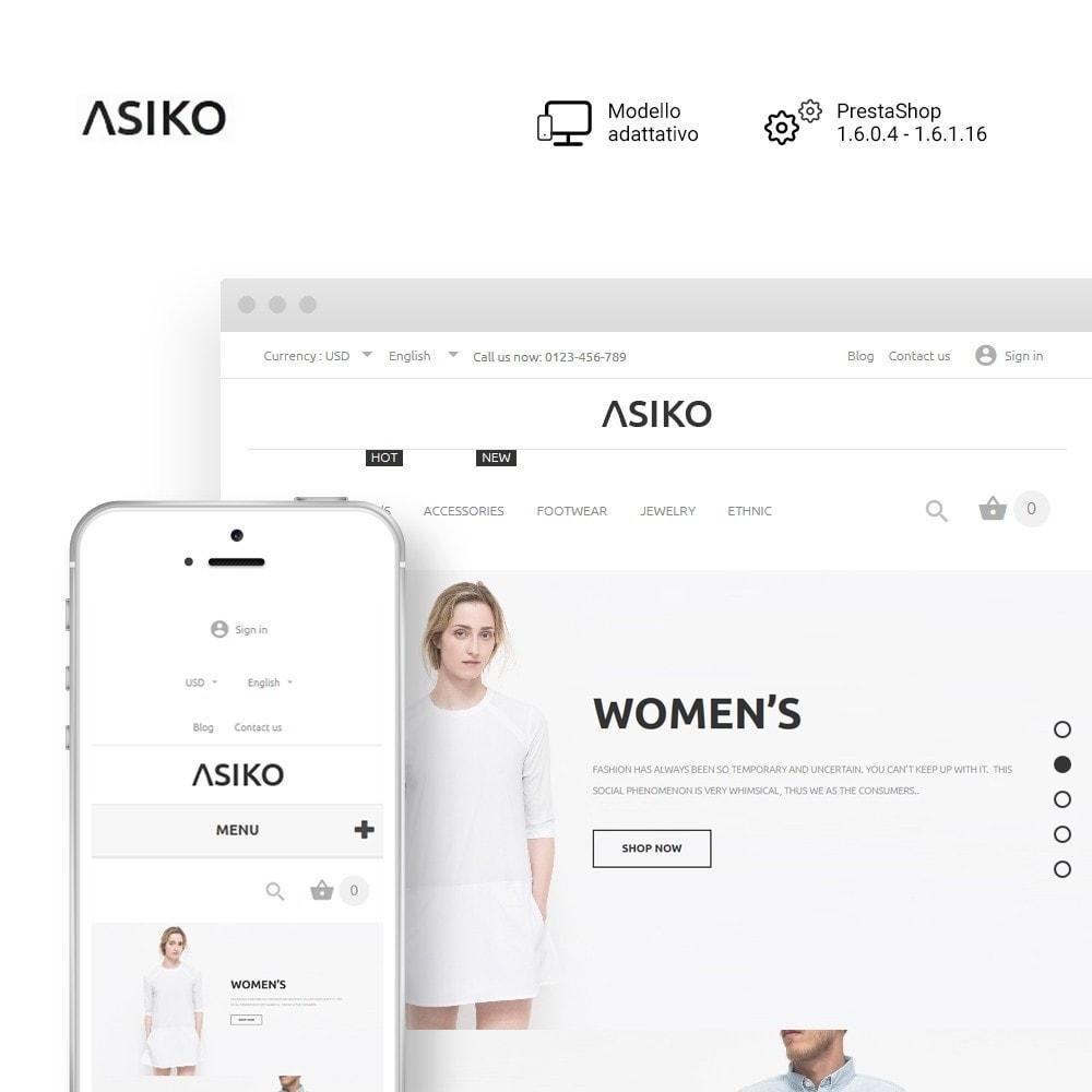 theme - Moda & Calzature - Asiko - 1