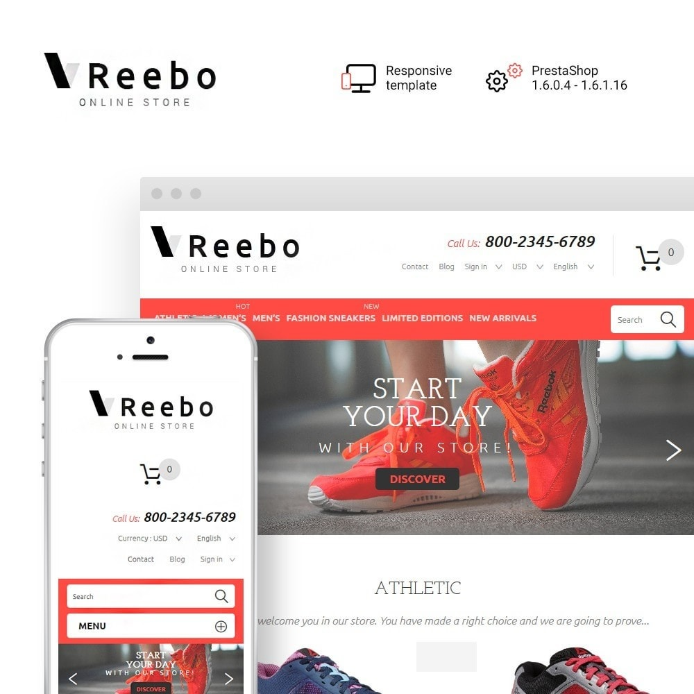 Reebo - Shoe Store