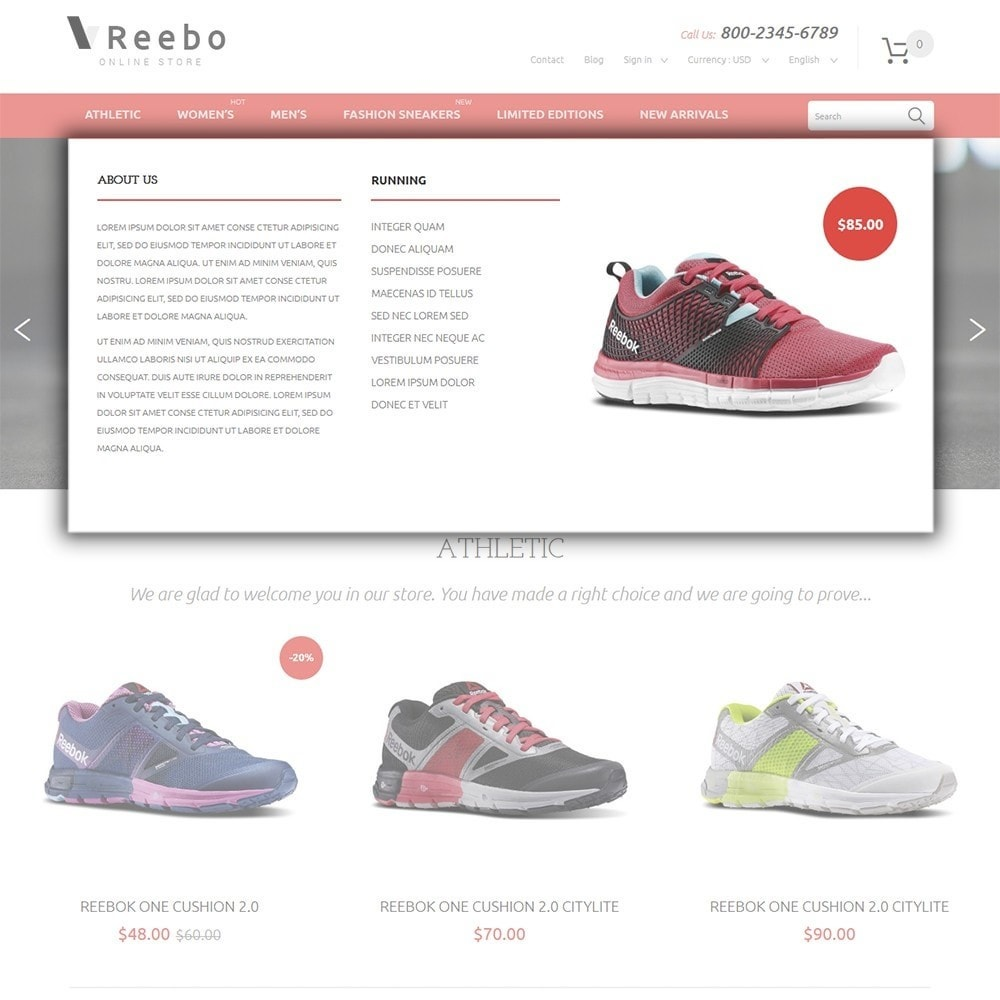 theme - Mode & Chaussures - Reebo - Shoe Store - 5