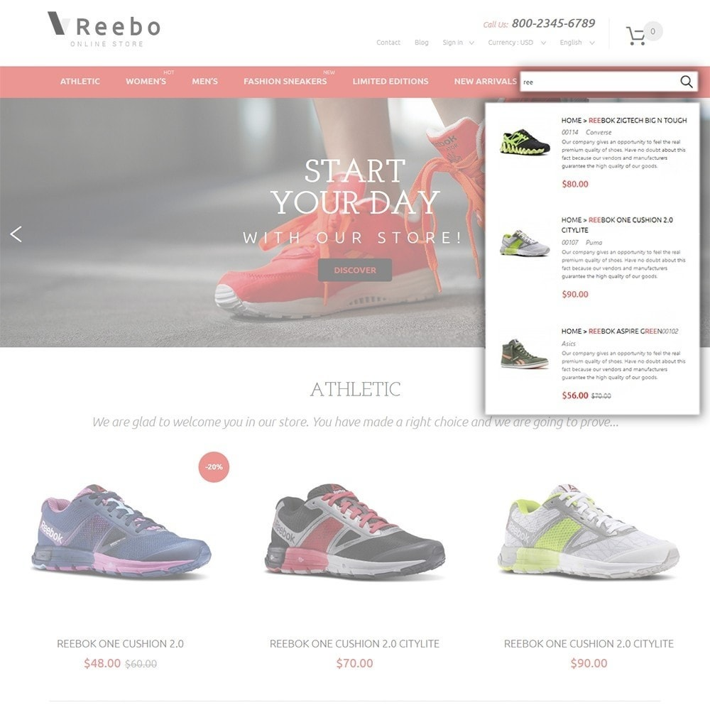 theme - Mode & Chaussures - Reebo - Shoe Store - 6