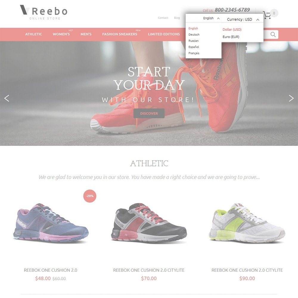 theme - Mode & Chaussures - Reebo - Shoe Store - 7