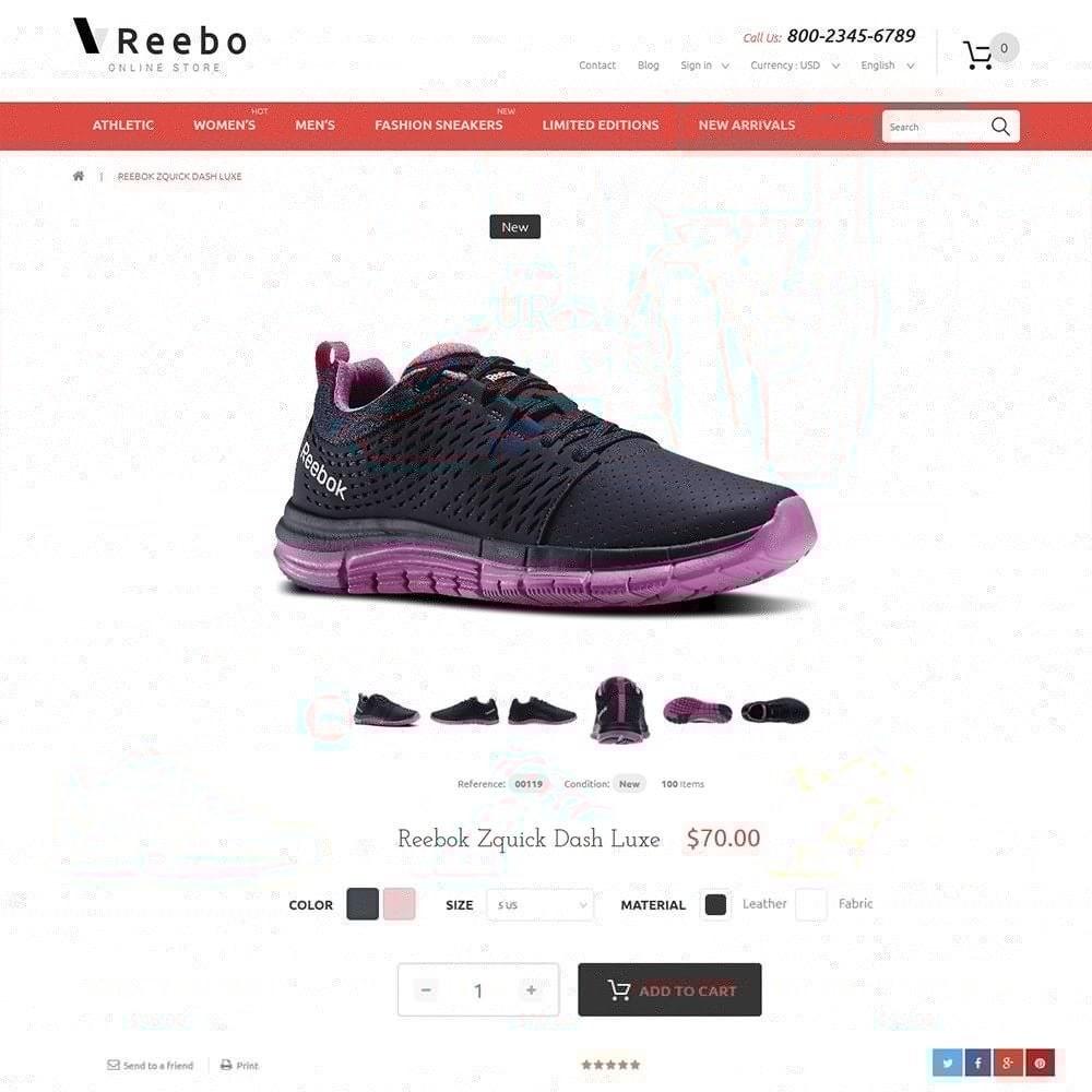 theme - Мода и обувь - Reebo - Shoe Store - 3