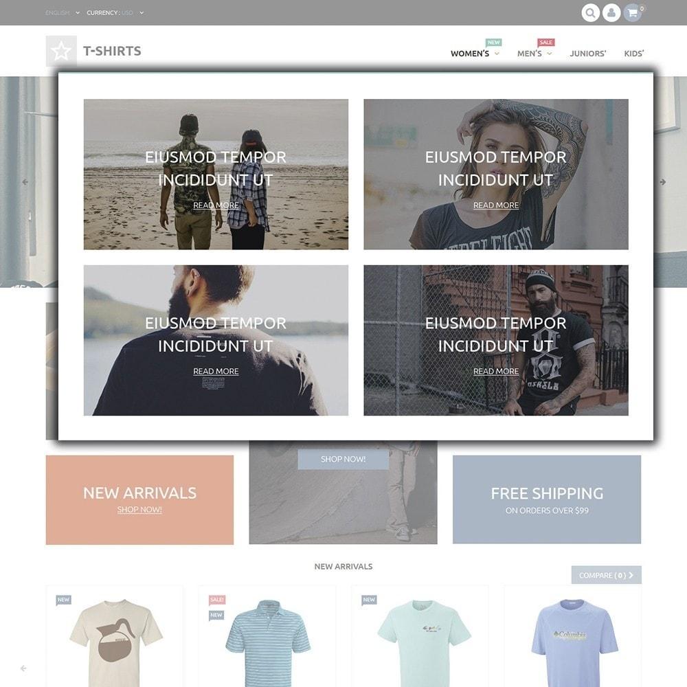 theme - Fashion & Shoes - T-Shirts - 4