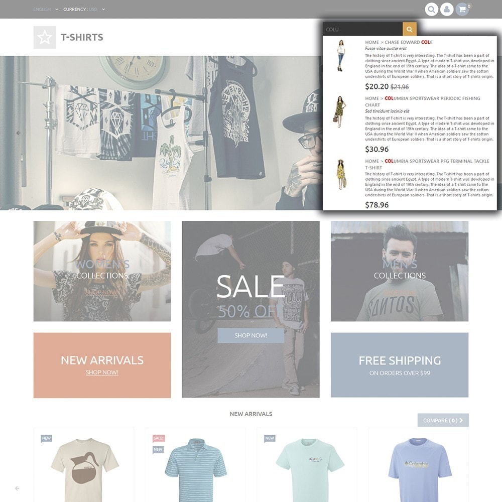 theme - Fashion & Shoes - T-Shirts - 6