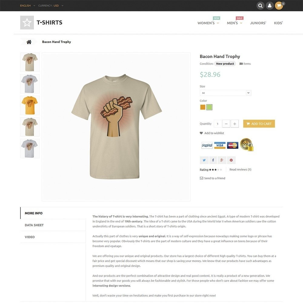 theme - Мода и обувь - T-Shirts - 3