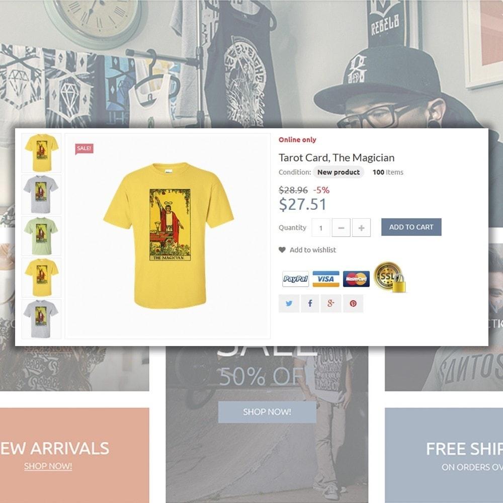 theme - Moda & Calzature - T-Shirts - 5