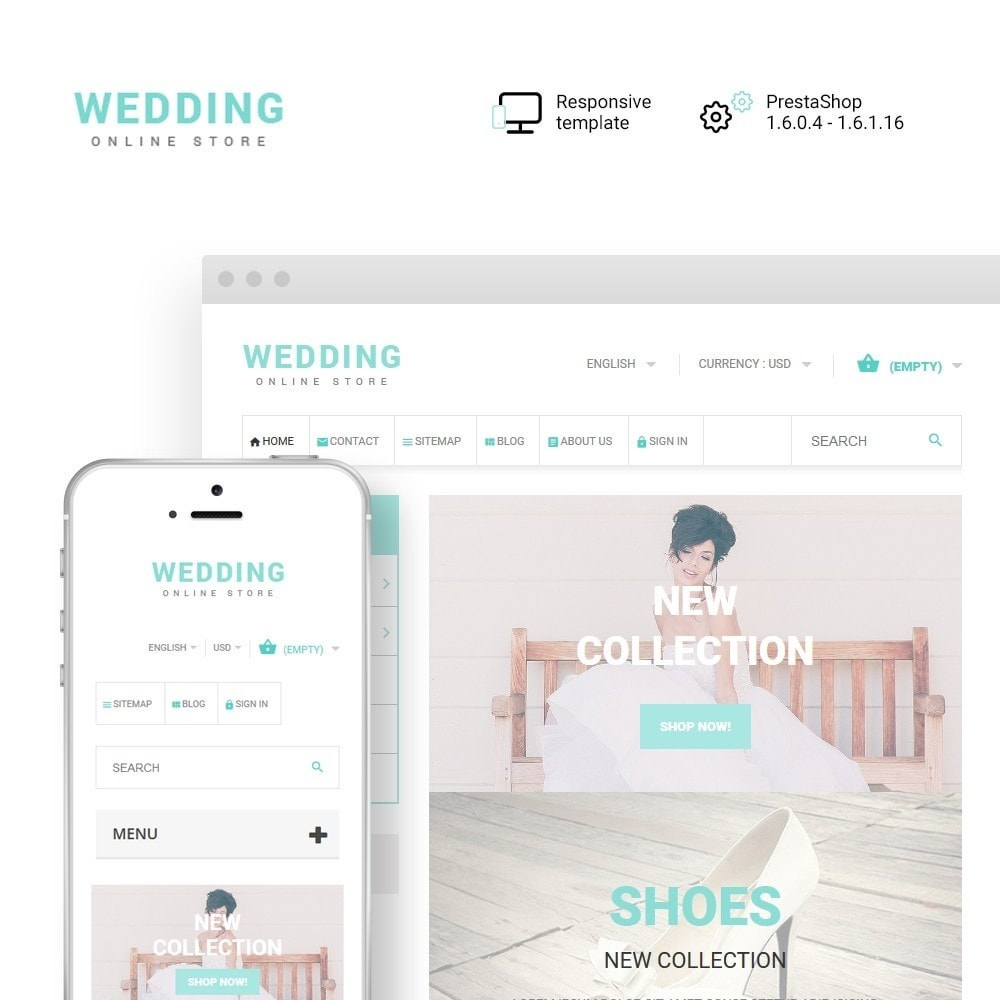 theme - Fashion & Shoes - Wedding - 1