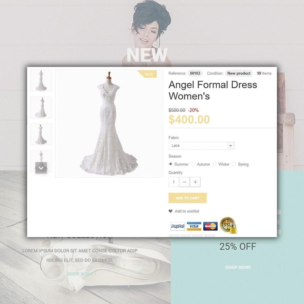 theme - Мода и обувь - Wedding - 4