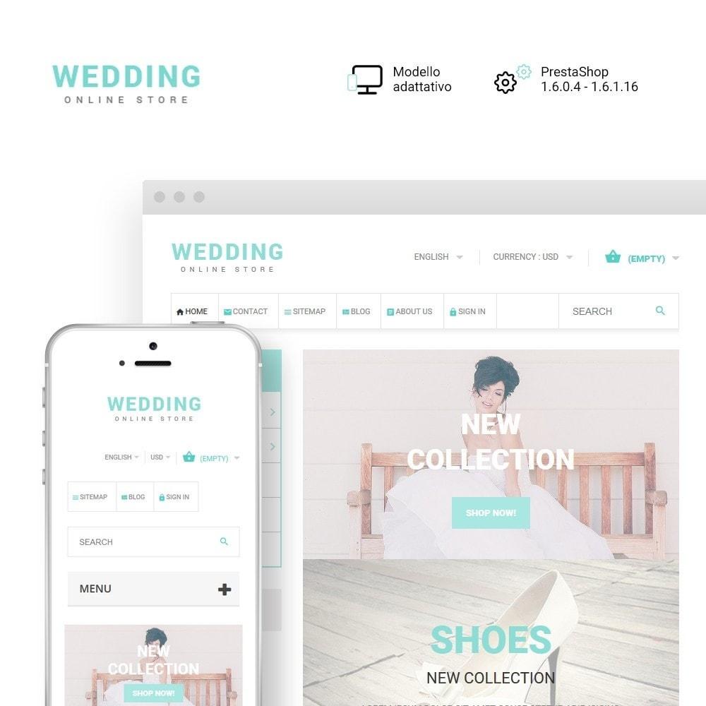 theme - Moda & Calzature - Wedding - 1