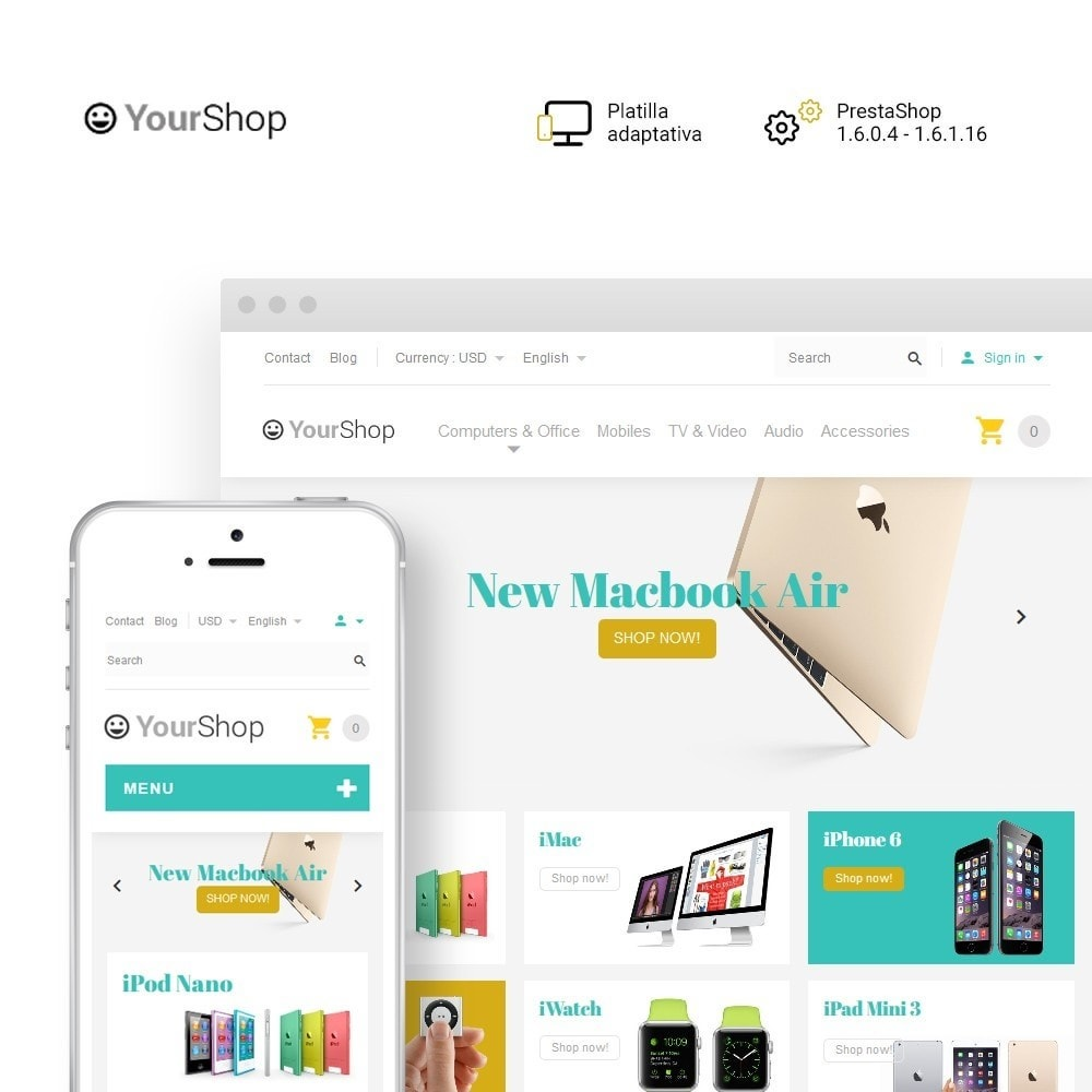 YourShop - Electronics Store
