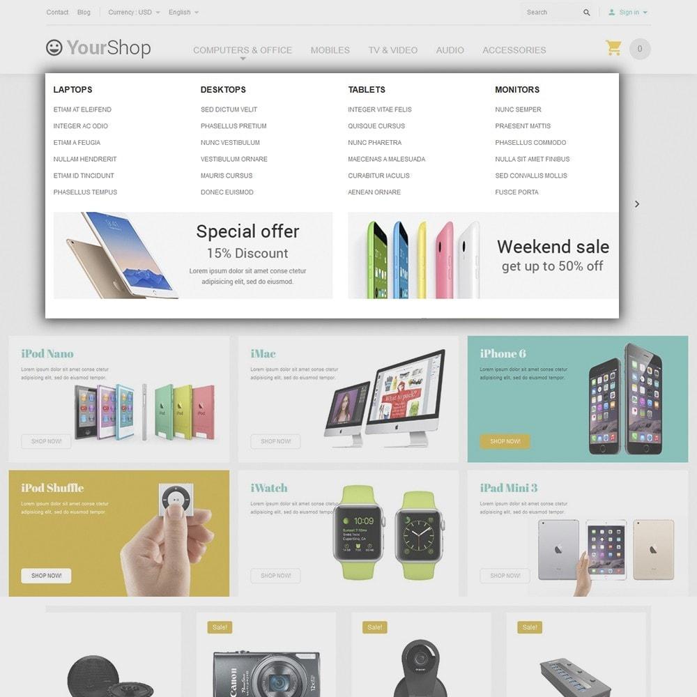 theme - Electrónica e High Tech - YourShop - Electronics Store - 5