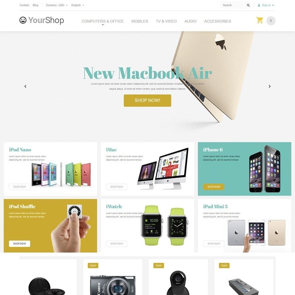 theme - Электроника и компьютеры - YourShop - Electronics Store - 2