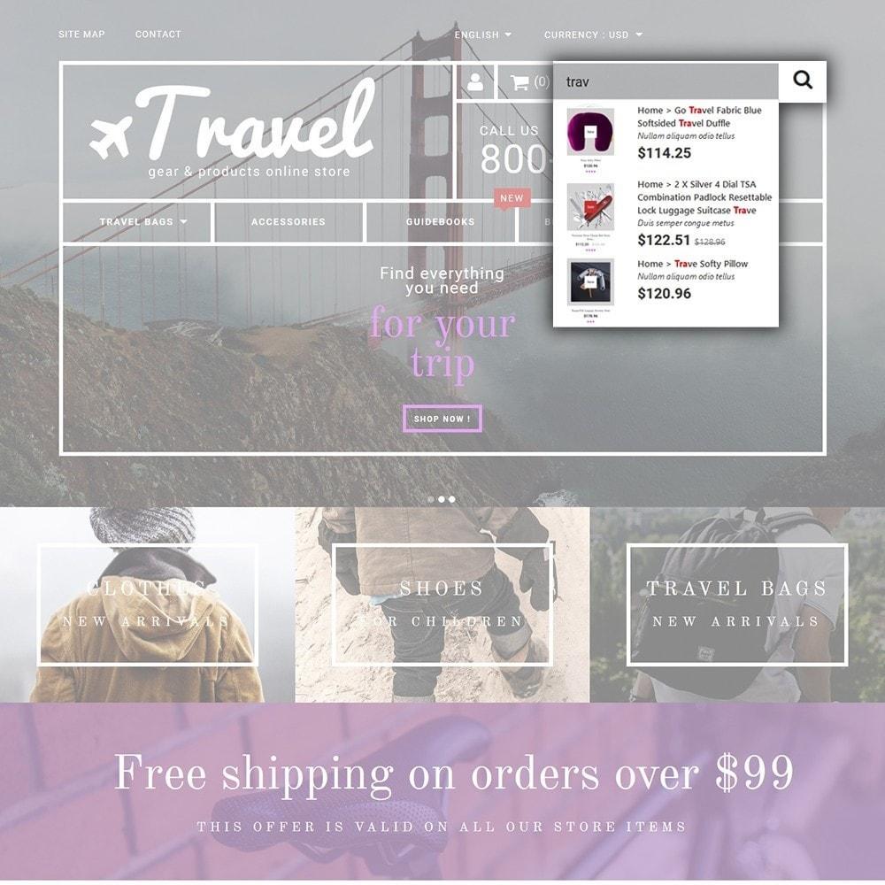 theme - Sport, Attività & Viaggi - Travel - Gear & Product Online Store - 6