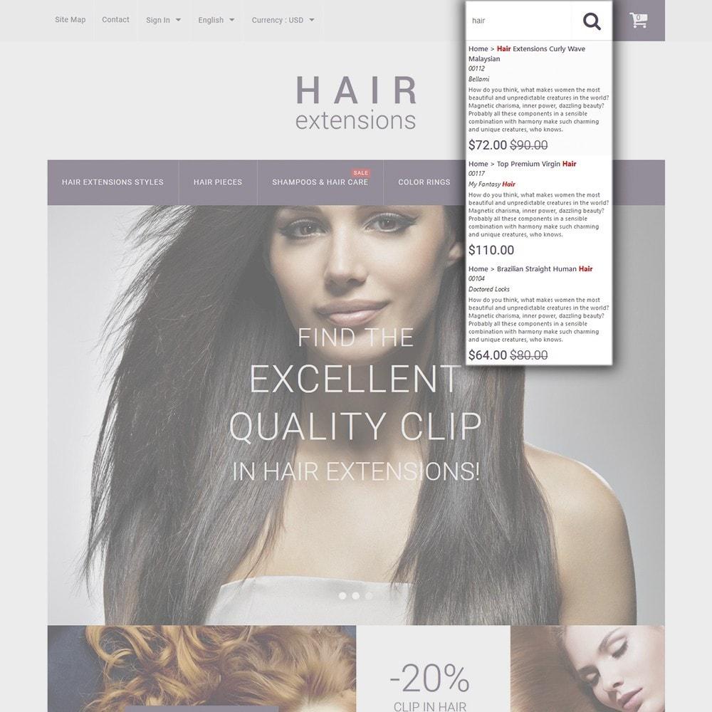 theme - Мода и обувь - Hair Extensions - 6