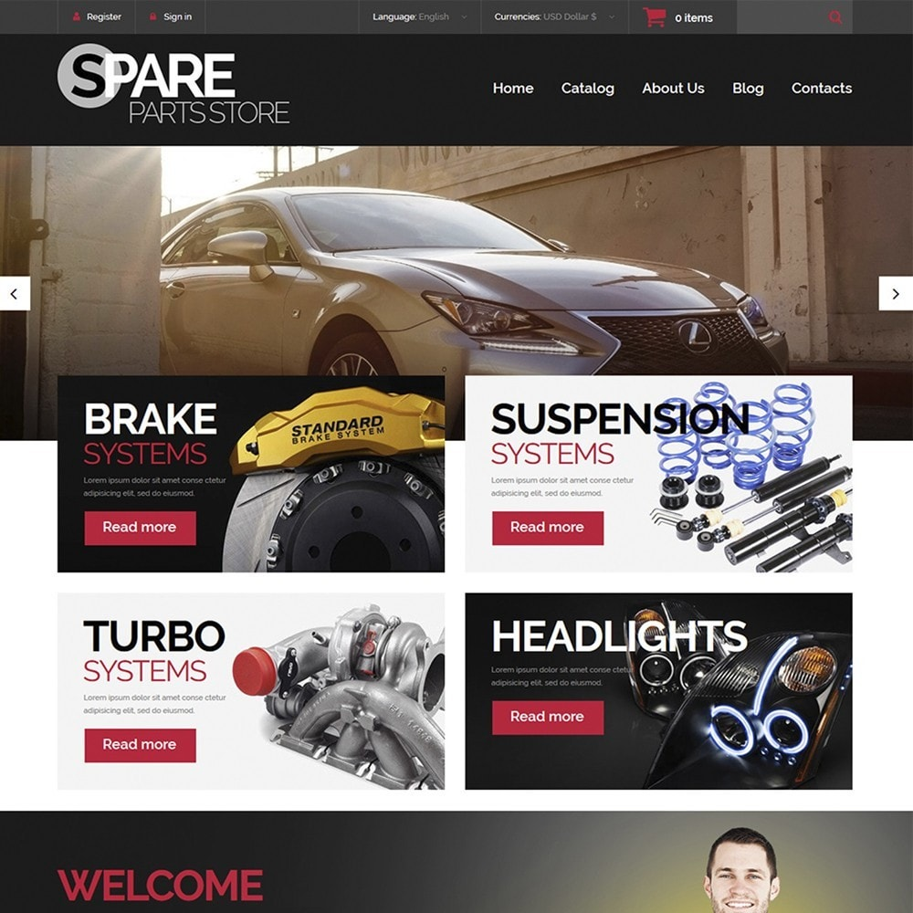 Spare Parts Store