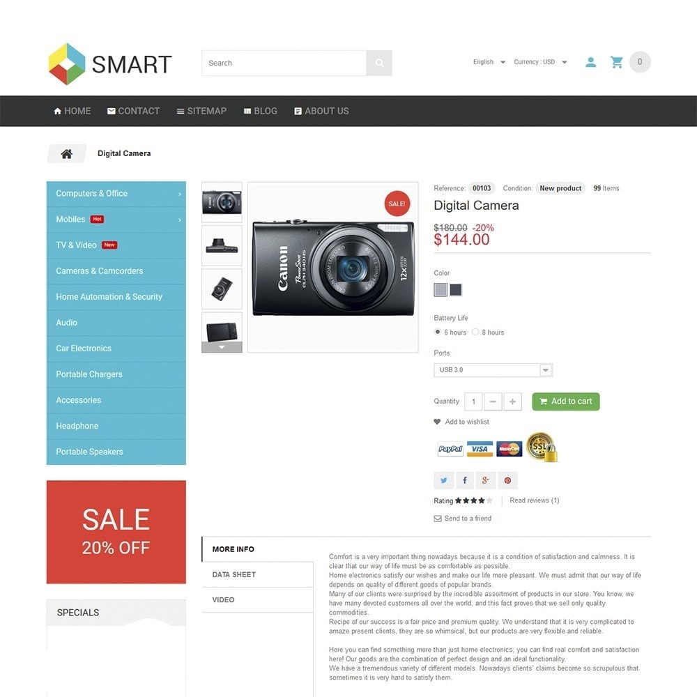 theme - Electronique & High Tech - Smart Electronics - 3