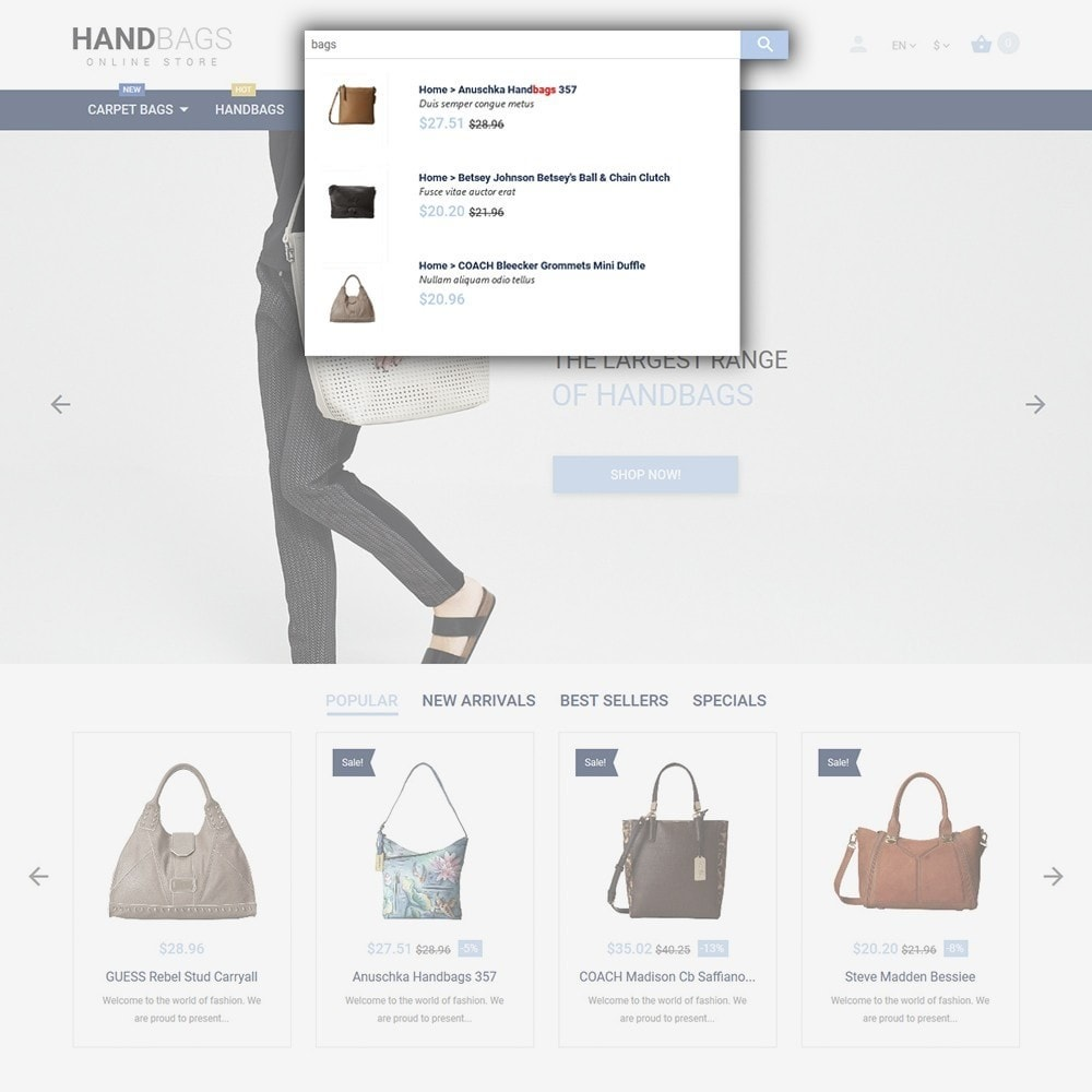theme - Moda & Calzature - Handbag - 6