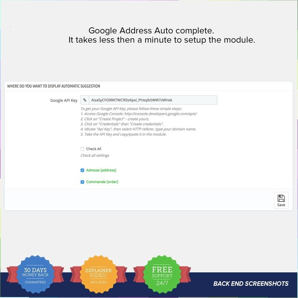module - Pesquisa & Filtros - Google Address Autocomplete 1.6 and 1.7 - 3