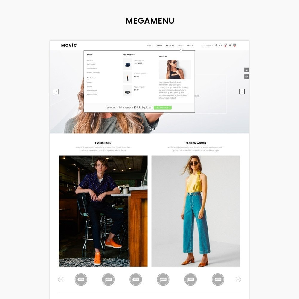 theme - Moda & Calzature - Movic Fashion Store - Prestashop 1.7 - 3