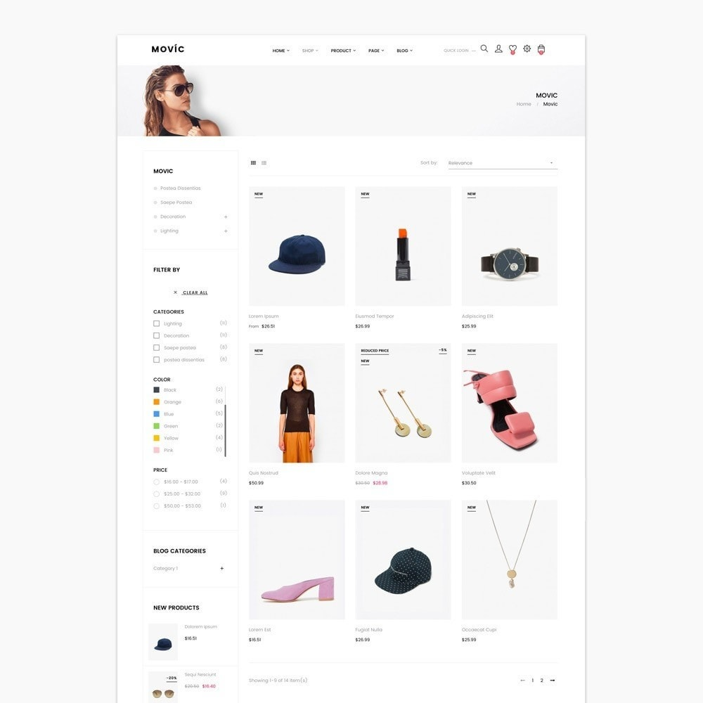 theme - Fashion & Shoes - Movic Fashion Store - Prestashop 1.7 - 7