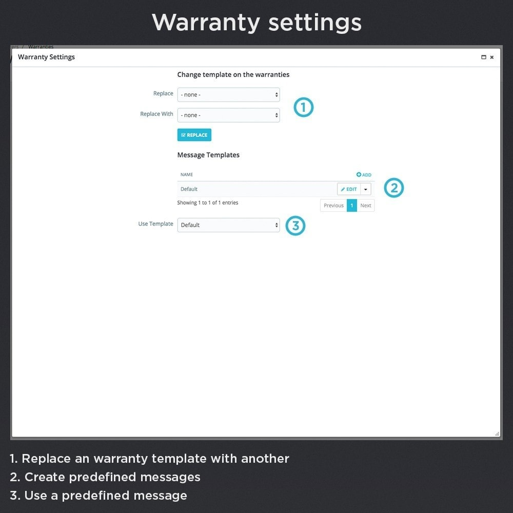 module - Order Management - Product Warranty Pro - 15