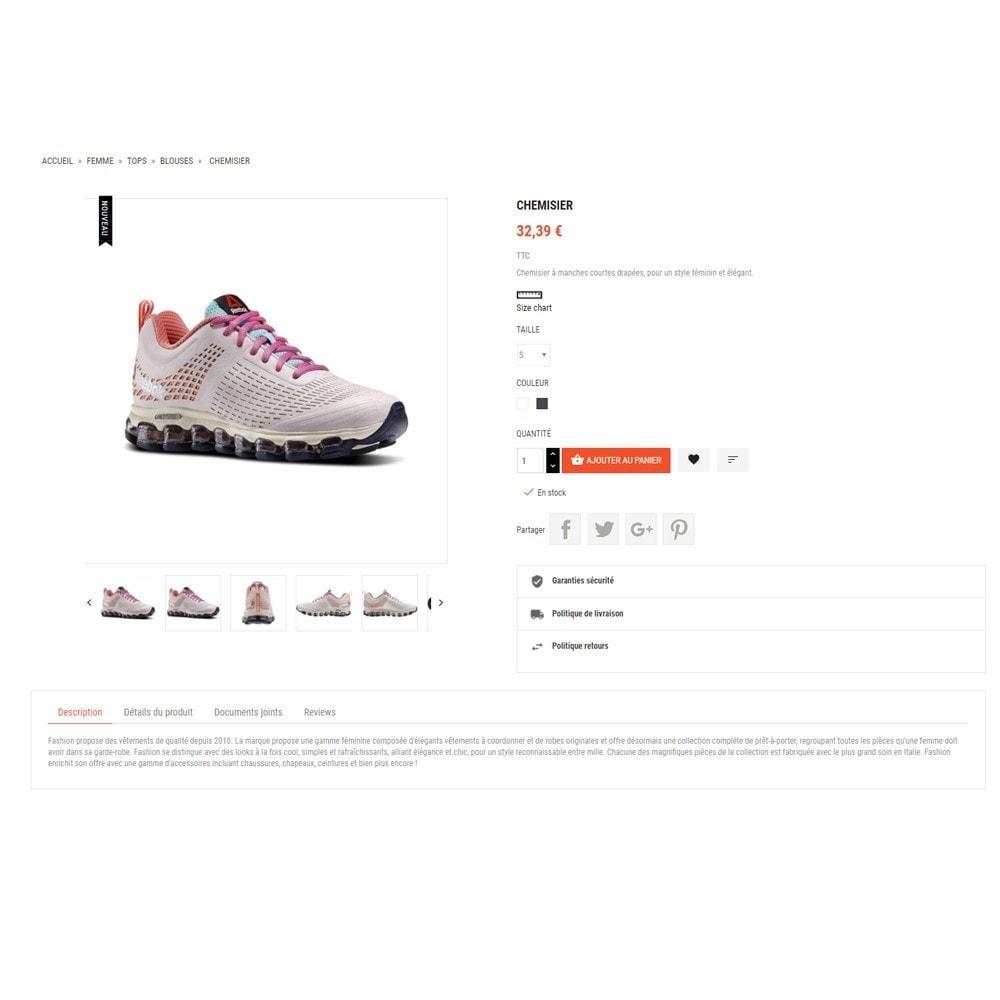 theme - Fashion & Shoes - Thème Dis Sneakers Store - 4