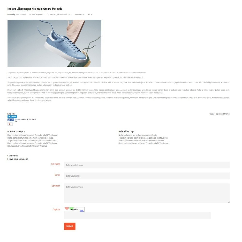 theme - Mode & Schuhe - Thème Dis Sneakers Store - 6