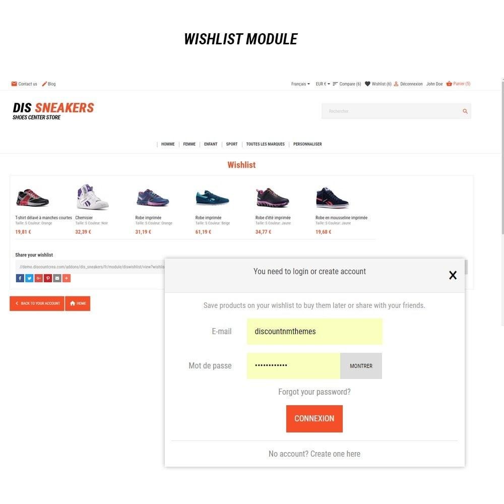 theme - Mode & Schuhe - Thème Dis Sneakers Store - 8