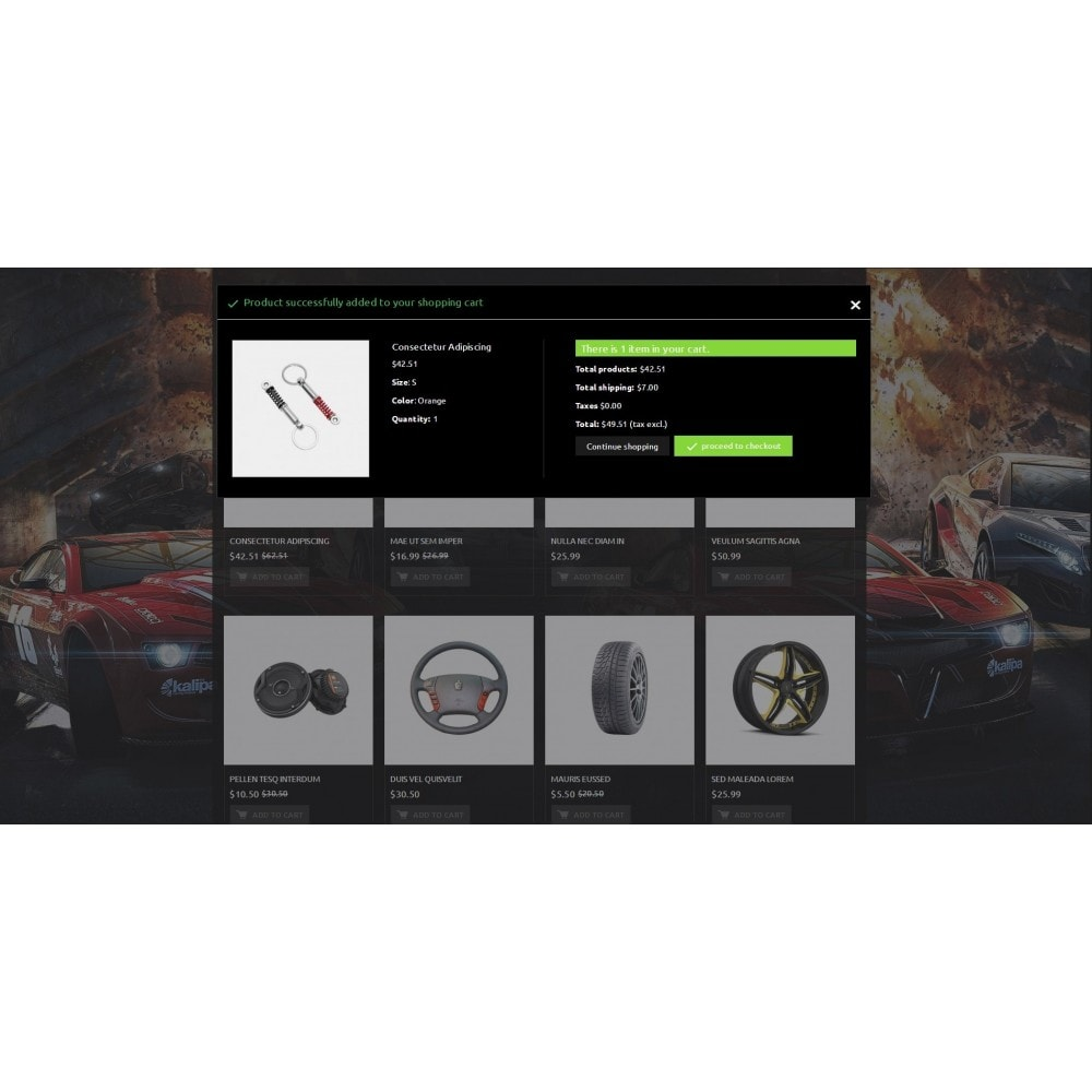 theme - Samochody - Extreme - Automobiles Store - 8