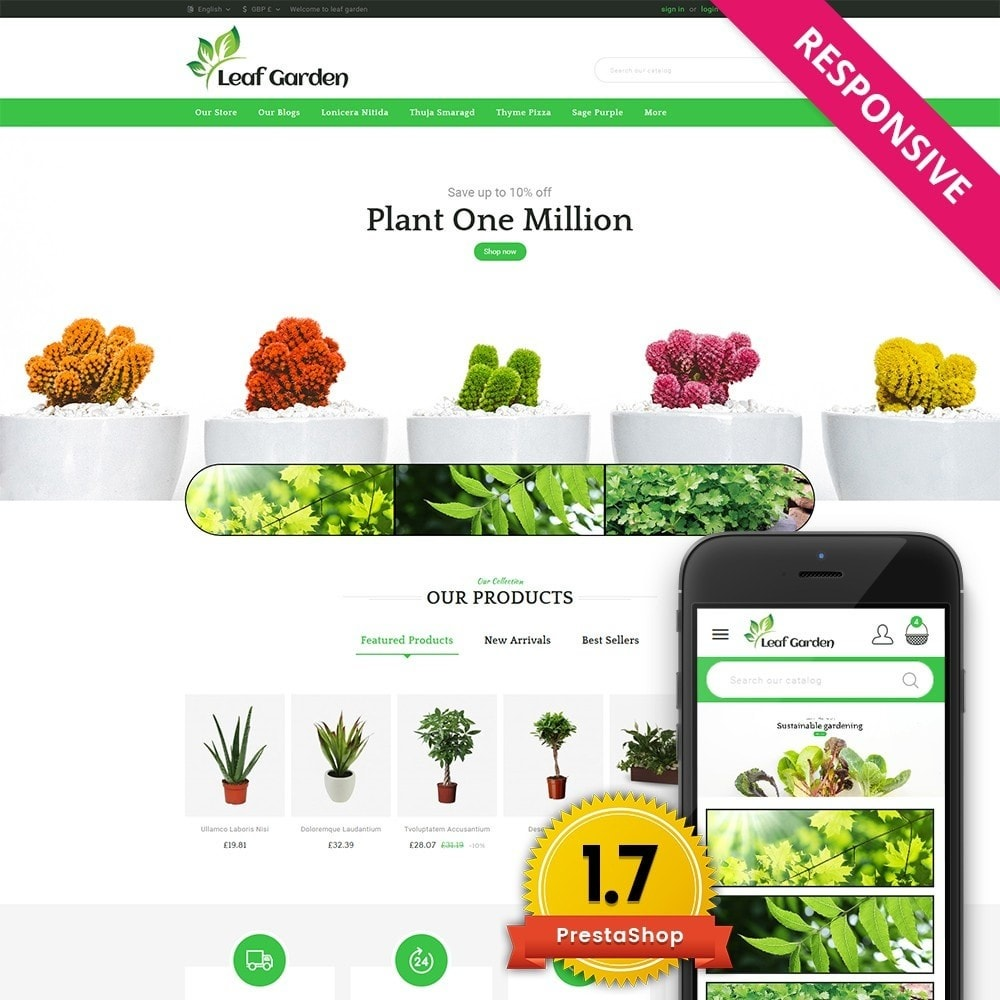 theme - Maison & Jardin - Leaf Garden Store - 1