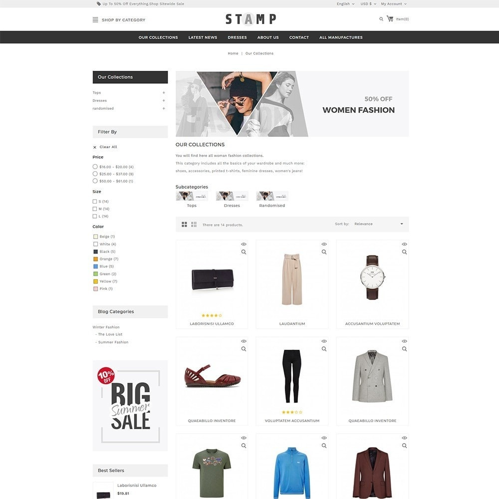 theme - Mode & Chaussures - Stamp Fashion Store - 4