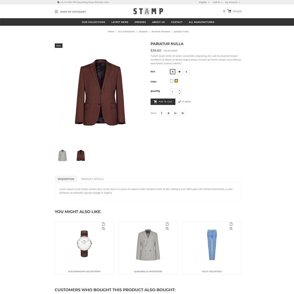 theme - Moda y Calzado - Stamp Fashion Store - 6