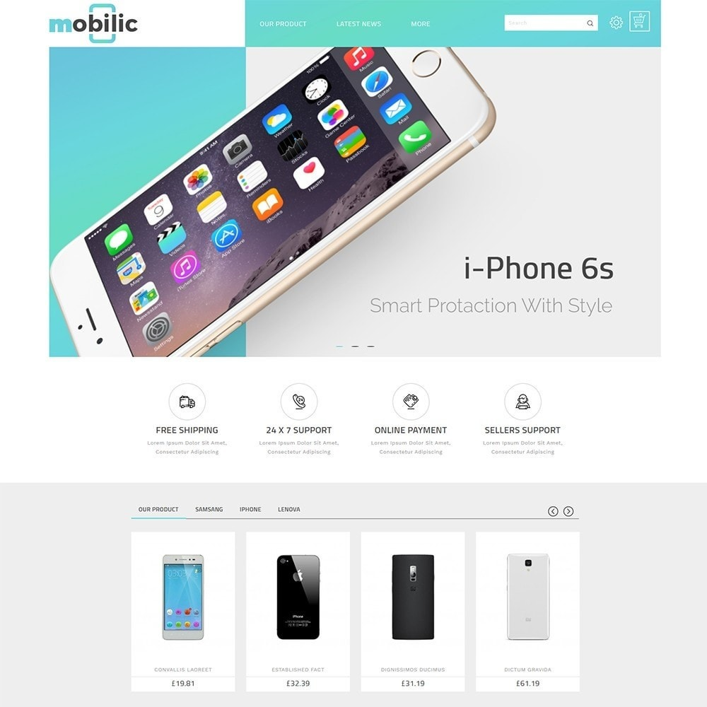 Mobilic Mobile Shop