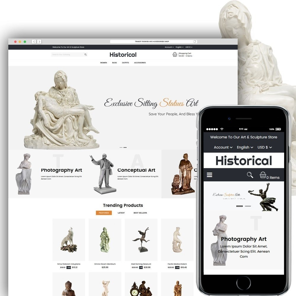 Historical Sculpture Store