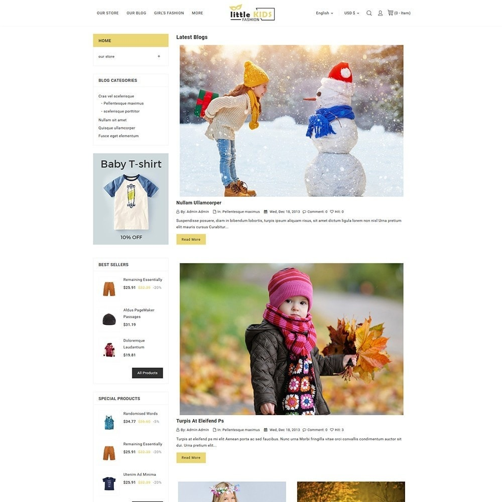 theme - Moda & Calzature - Littekids Fashion Store - 7