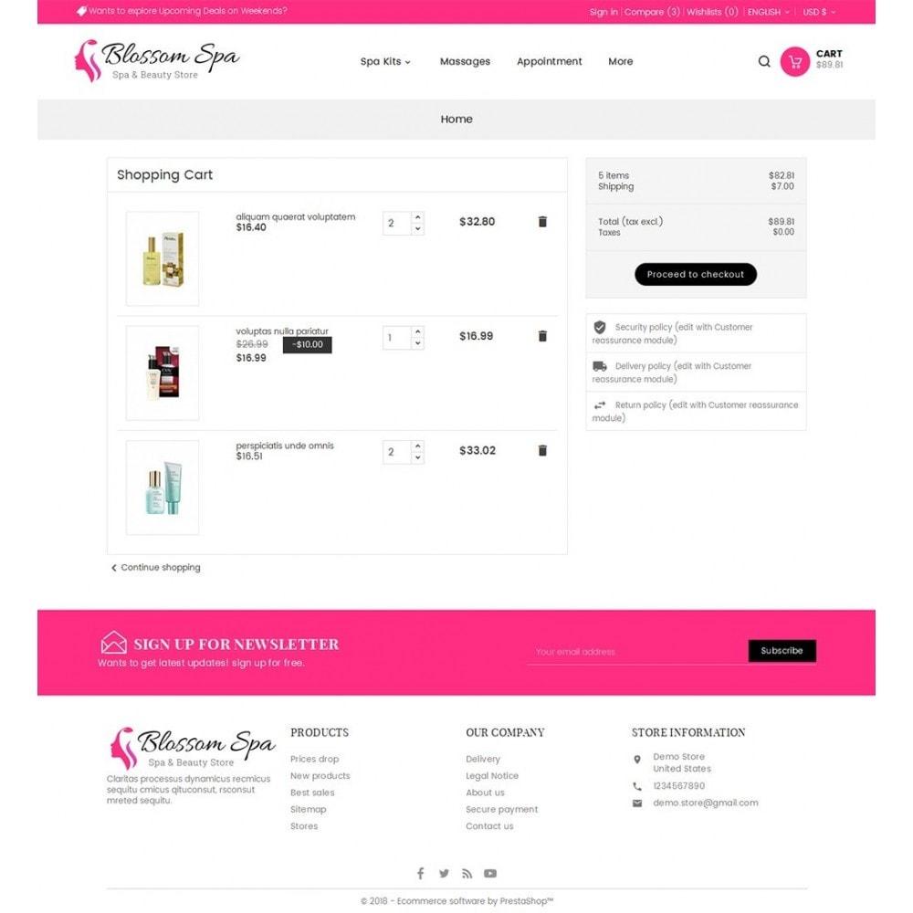 theme - Saúde & Beleza - Blossom Spa - 6