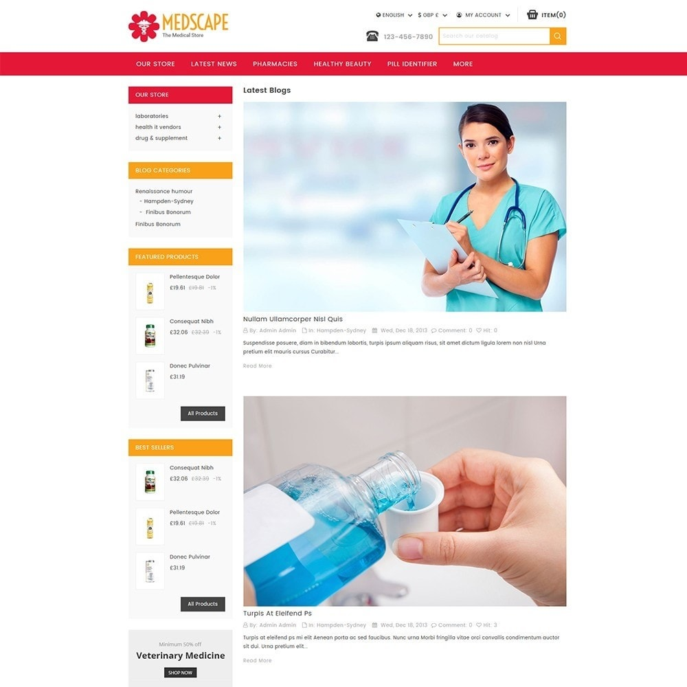 theme - Salute & Bellezza - Medscape Medical Store - 7
