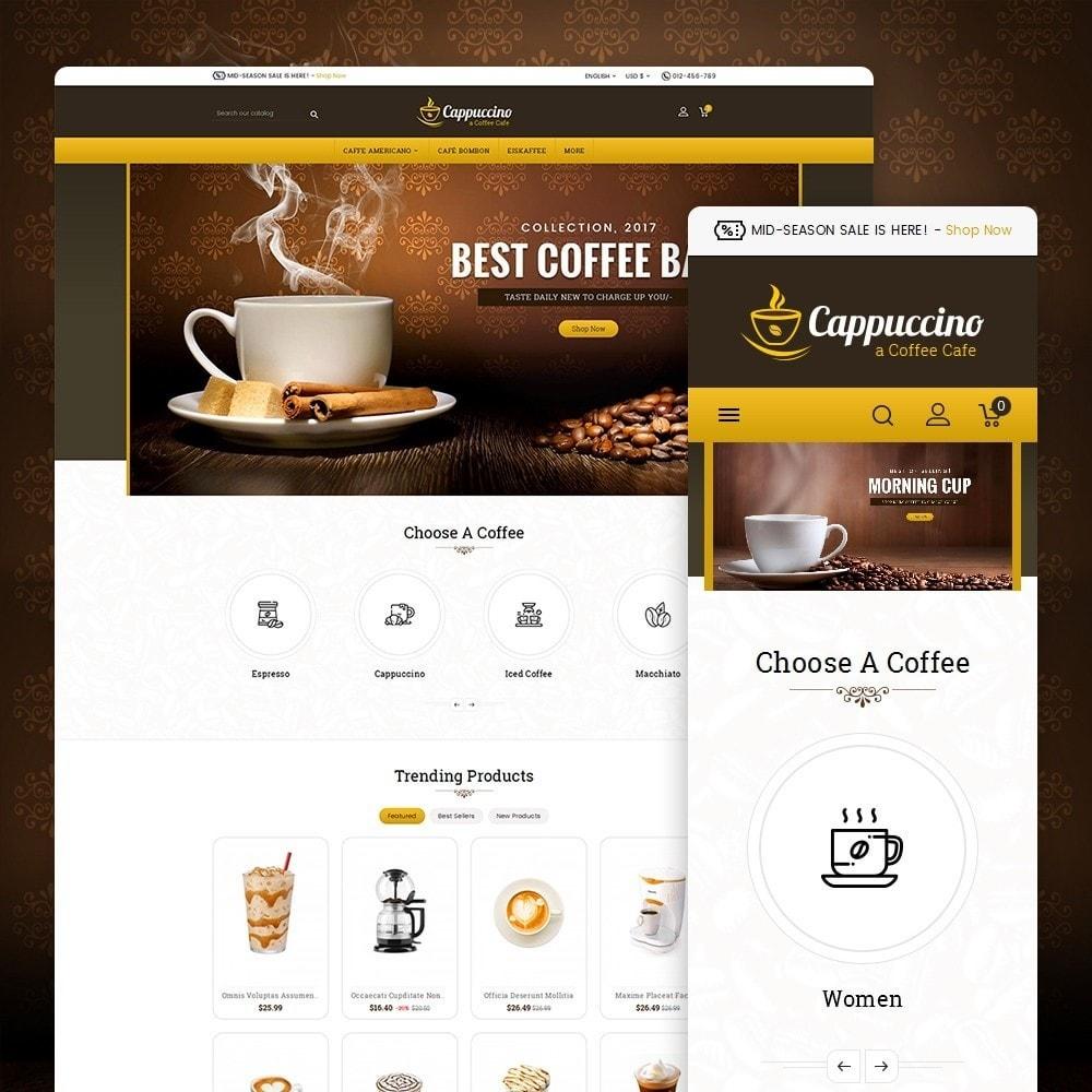 theme - Drank & Tabak - Coffee Cappuccino - 1