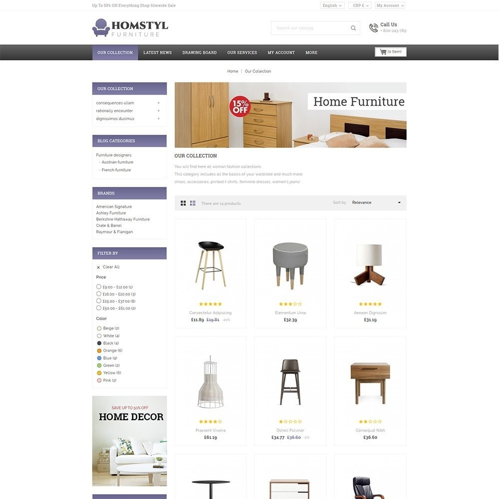 theme - Dom & Ogród - Homstyl Furniture Store - 4