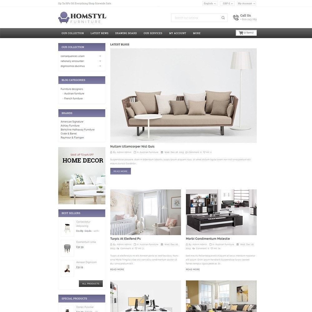 theme - Dom & Ogród - Homstyl Furniture Store - 7
