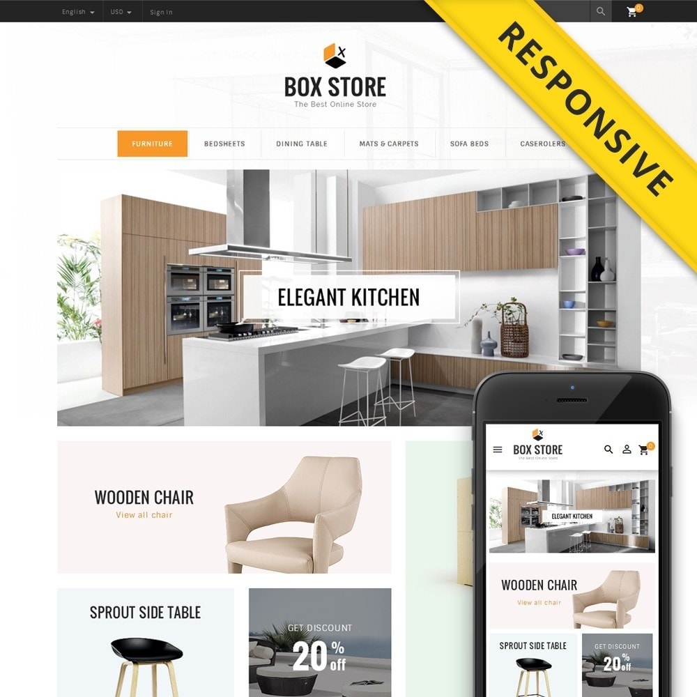 BoxStore - Furniture Store