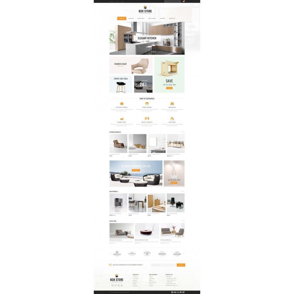 theme - Casa & Jardins - BoxStore - Furniture Store - 2