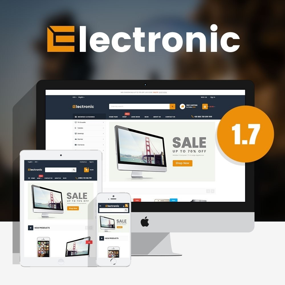 theme - Elettronica & High Tech - Supermarket Online Store - 1