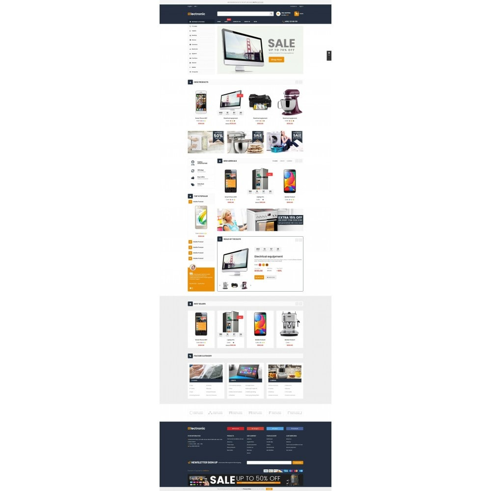 theme - Elettronica & High Tech - Supermarket Online Store - 2