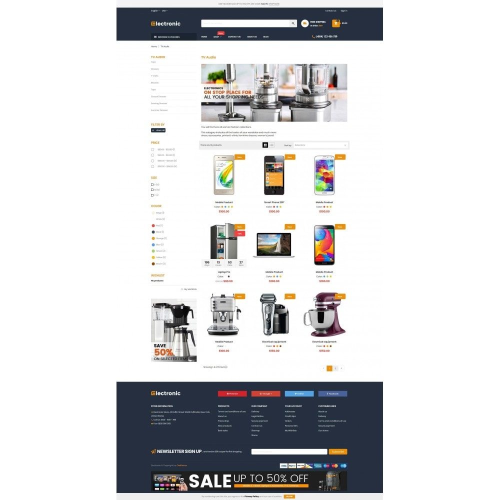 theme - Elettronica & High Tech - Supermarket Online Store - 3