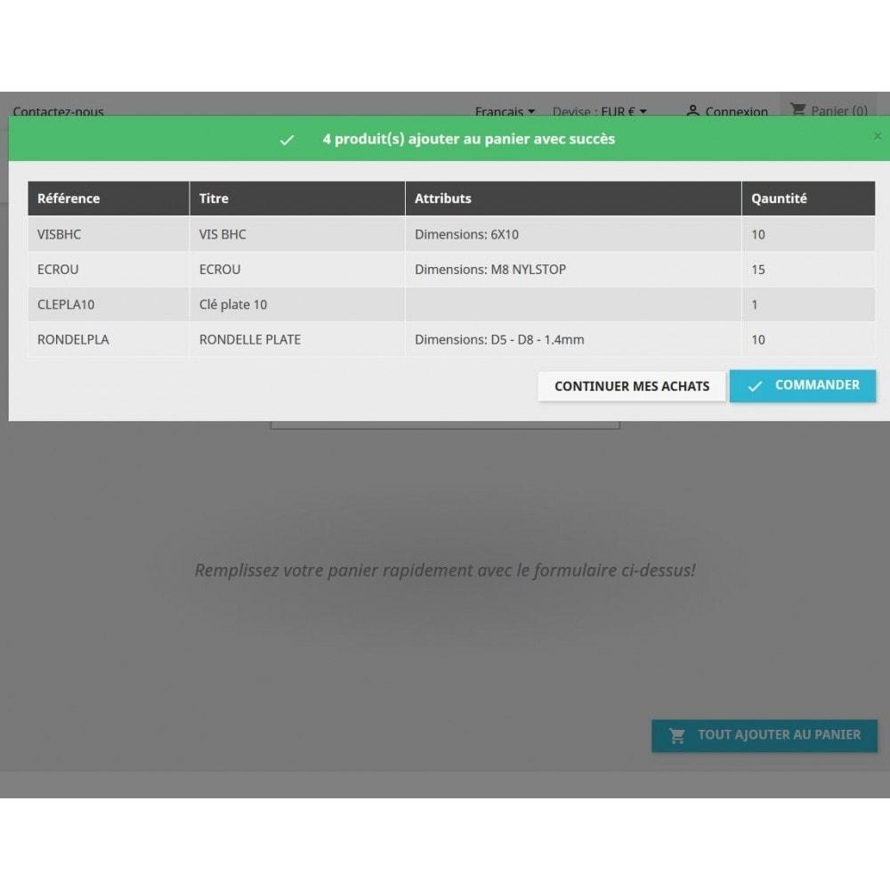 module - Процесс заказа - Fill cart quick - 6