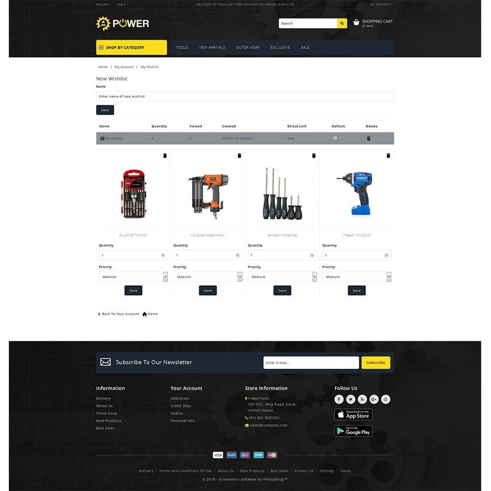 theme - Elettronica & High Tech - PowerTools Store - 10