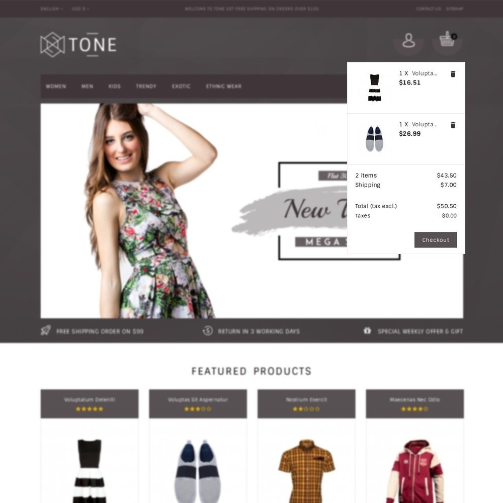 theme - Mode & Schuhe - Tone Fashion Store - 8