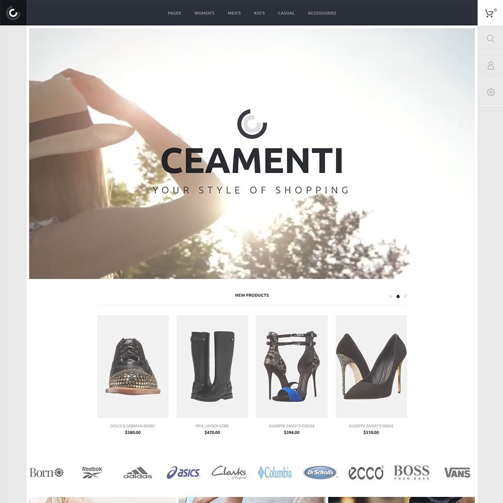 theme - Mode & Chaussures - Ceamenti - 2