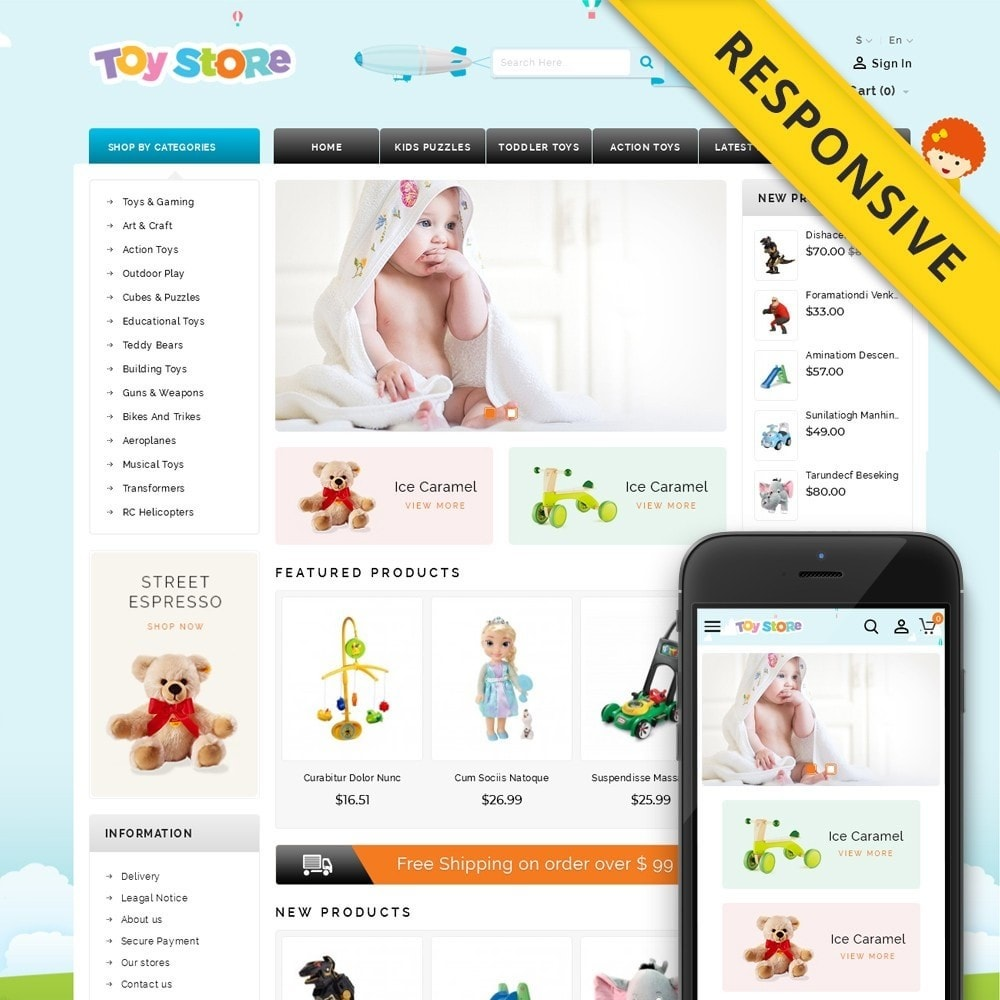 Kids & Toys Shop